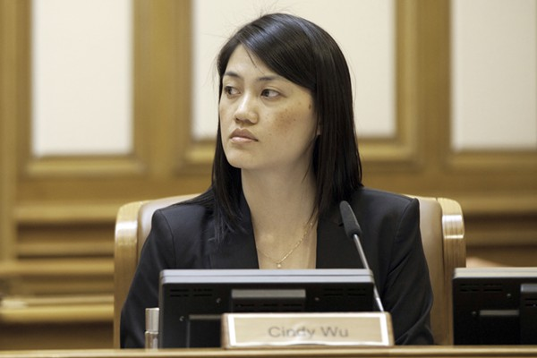 Cindy Wu is running for DCCC, 17th Assembly District.